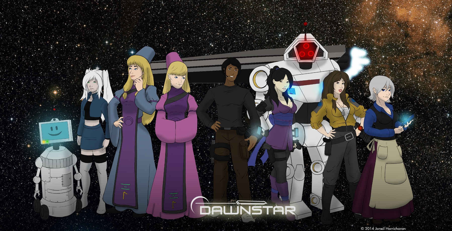 Dawnstar Character Group - 2014